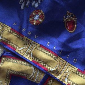 Accessories - Perry Ellis Long silk scarf